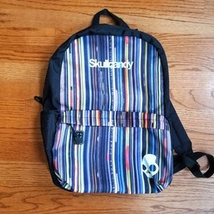 Skullcandy Backpack Stripped Mulicolored